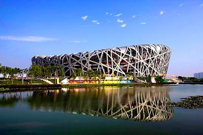 Amazing Beijing Birds Nest Stadium in China_MyClipta