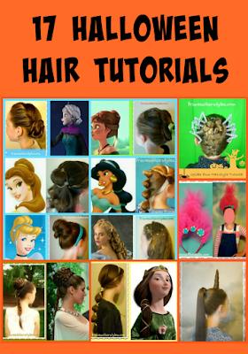 17 Halloween Hair Ideas, including tutorials