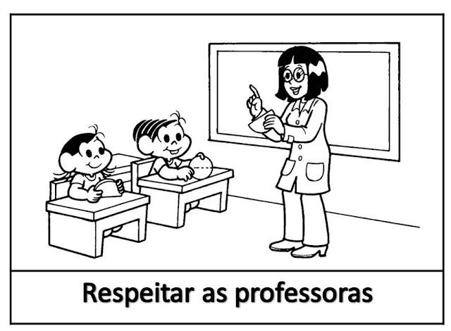 Cartaz de Combinados Para Educação Infantil