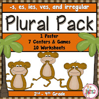 Plural Pack of Games and Worksheets
