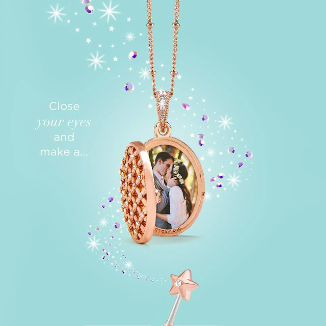 Vision of a Wish Origami Owl Living Locket available at StoriedCharms.com