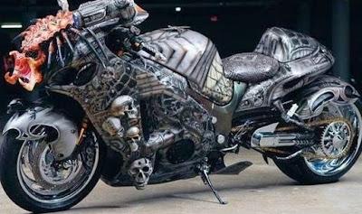 Motocicleta del depredador