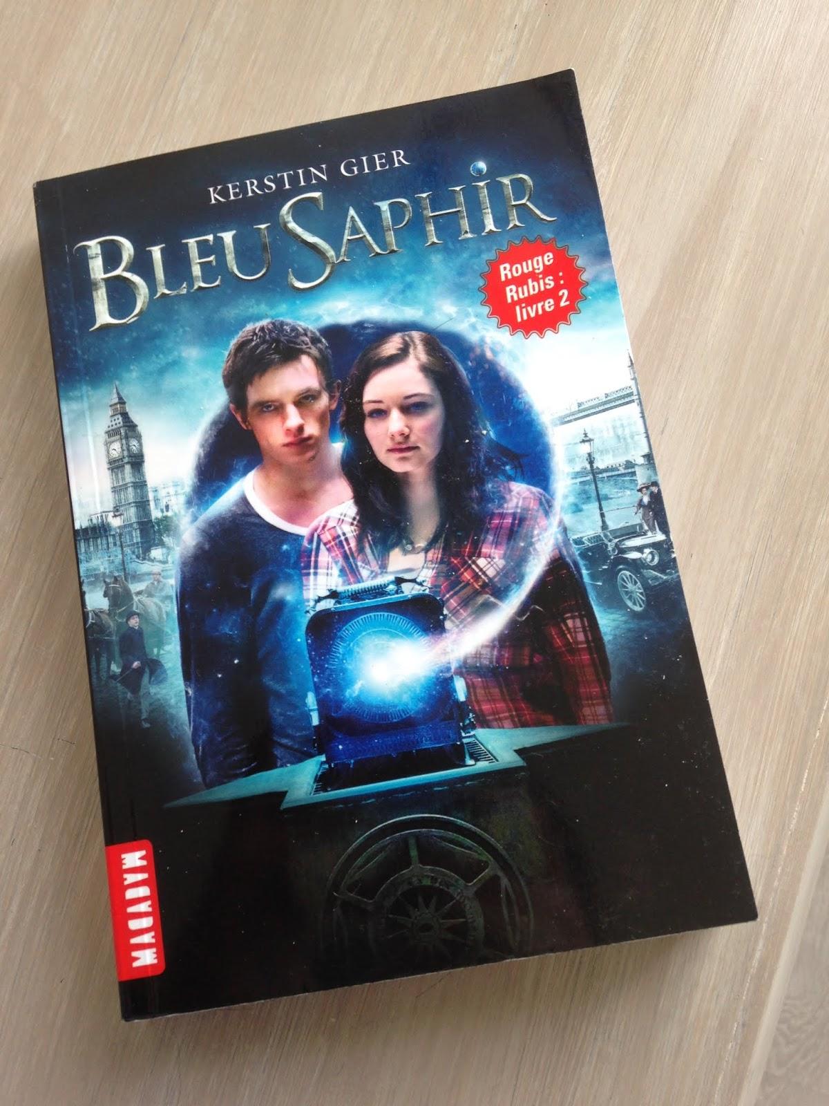 Les Livres De Noemie Trilogie Des Gemmes T2 Bleu Saphir
