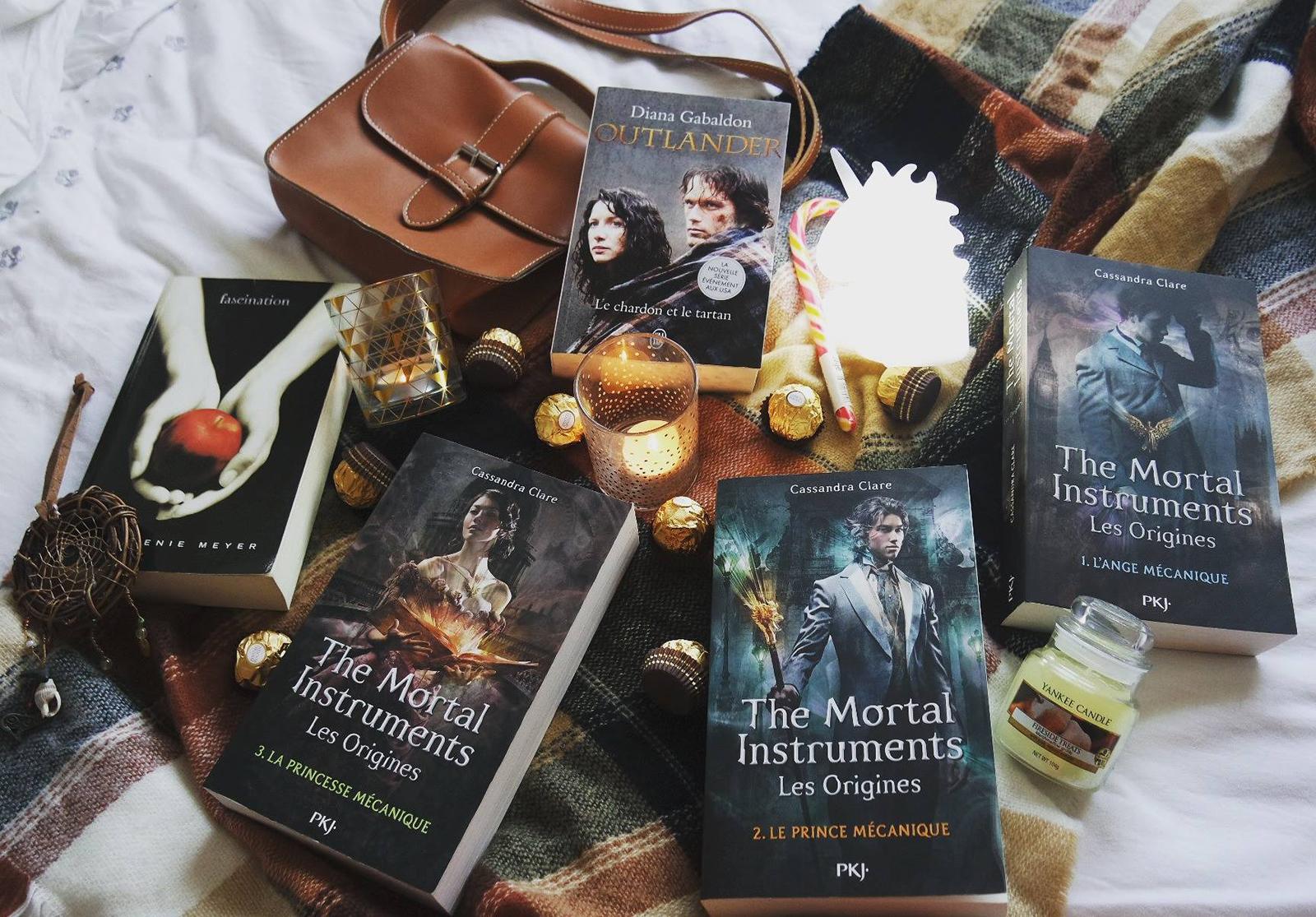 top 10 livres de 2016 Twilight Fascination The Mortal Instruments Outlander Coin des licornes Blog littéraire Toulouse