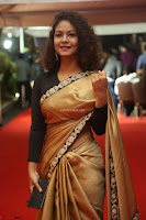 Aditi Myakal look super cute in saree at Mirchi Music Awards South 2017 ~  Exclusive Celebrities Galleries 006.JPG