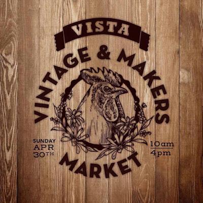 Vista Vintage & Makers Market logo