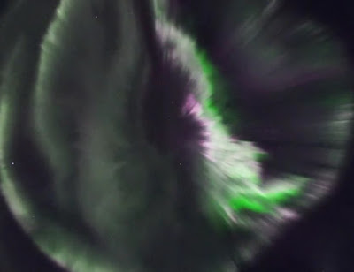 Direct broadcast of the aurora from Iceland