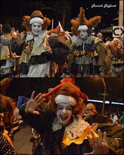 Desfile Inaugural del Carnaval. Uruguay. 2017 Murga Momolandia