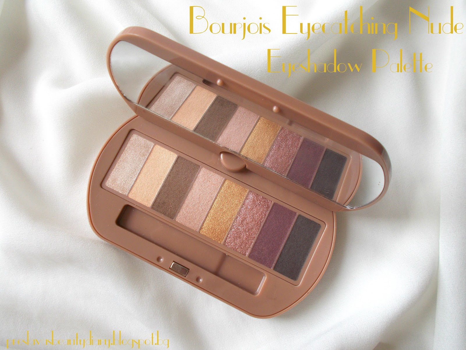Preslavas Beauty Diary Reviewbourjois Eye Catching Nude -6480
