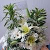 Bouquet Bunga Meja