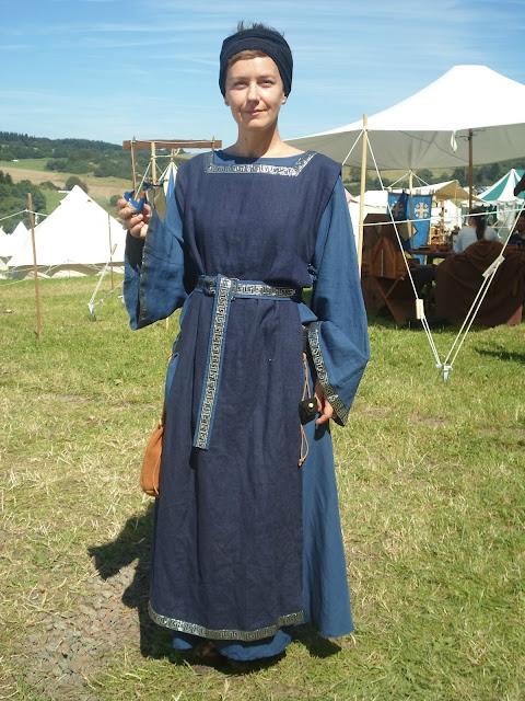 Ich in Mittelalter Kleidung