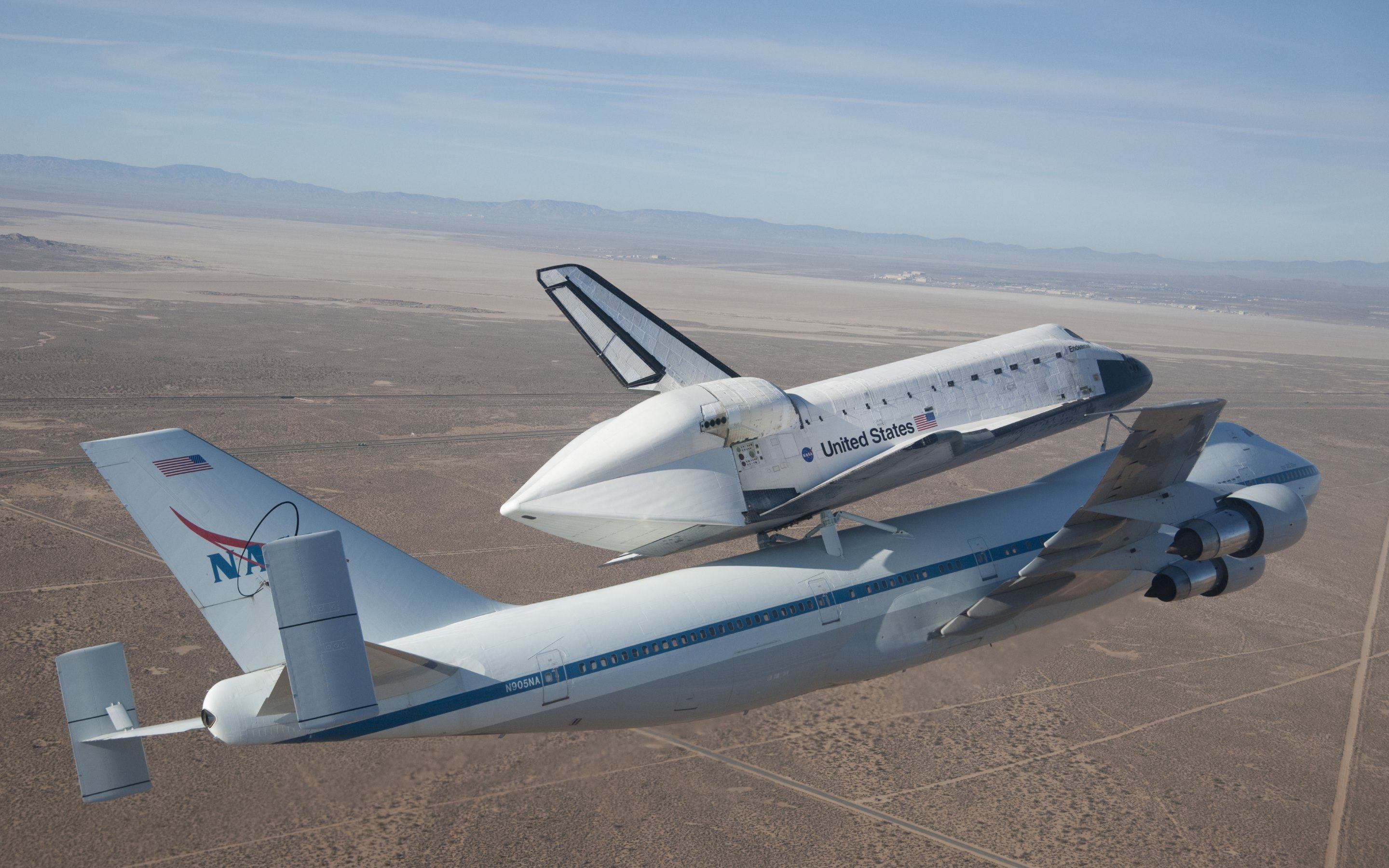 Aircraft nasa space shuttle endeavour wallpaper | AllWallpaper.in ...