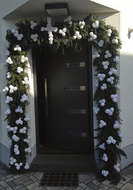 Kranz Binden Hochzeit Blumen