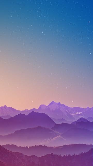 Mountain Range Wallpaper Galaxy A9 Pro