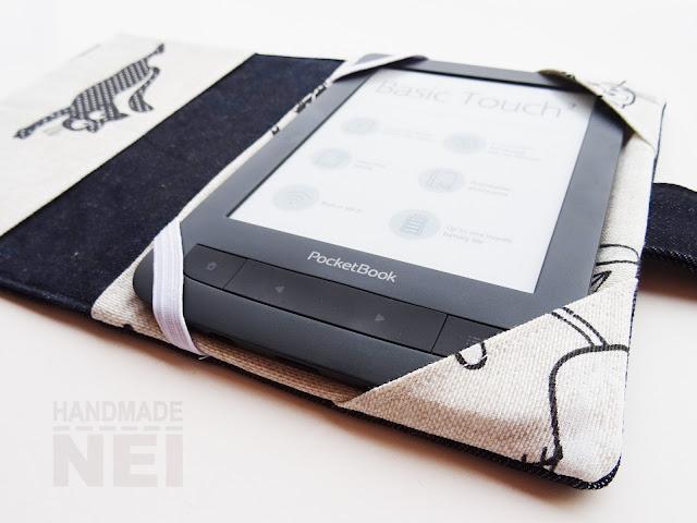 """Handmade Nel: Калъф за електронна книга от плат """"Котки"""""""