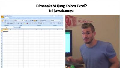 Seseorang 9 Jam Cari Kolom Terakhir Excel