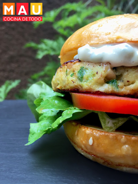 hamburguesas de pescado faciles para cuaresma