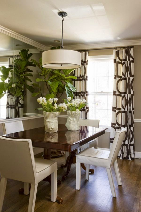 dining room in addition to a closer await at why it merits that rating Design lesson: Giving a large await to a minor dining infinite
