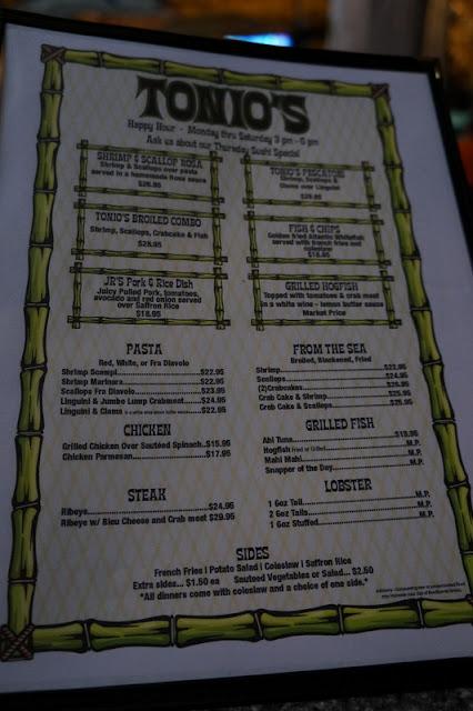 Tonio's Seafood Shack and Tiki Bar