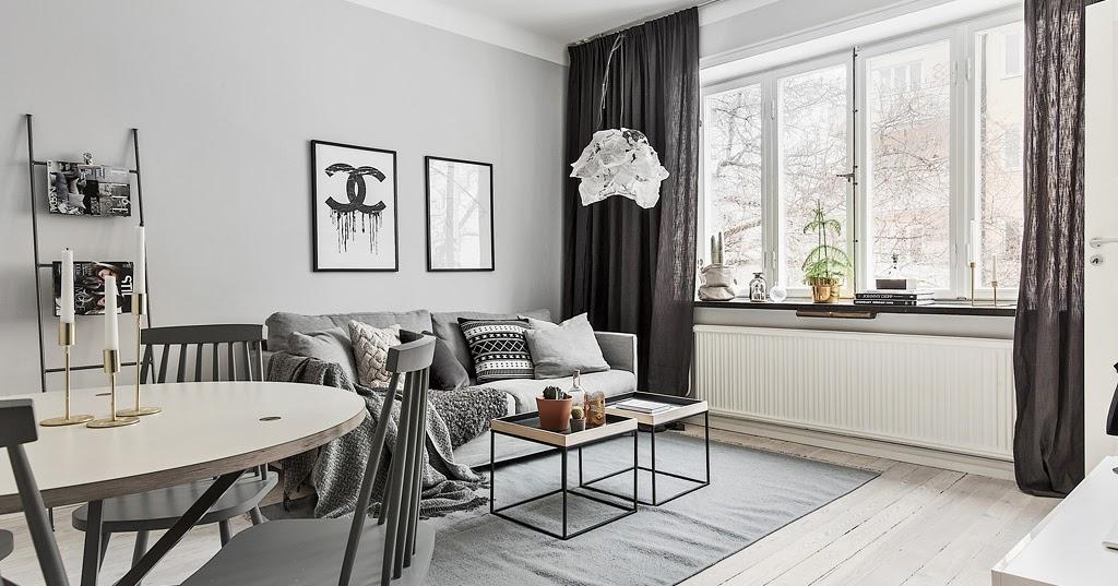 Amenajare n gri ntr un apartament de dou camere jurnal for Al saffar interior decoration l l c