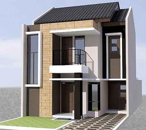 50 model desain rumah minimalis 2 lantai | desainrumahnya