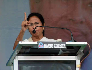 CM Mamata Banerjee in Kalimpong Mela Ground