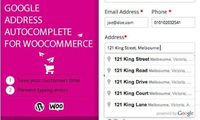 Google Address Autocomplete For Woocommerce v2.3.3 Free