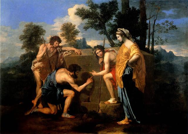 Nicolas Poussin – Et In Arcadia Ego [1638-40]