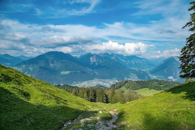 Wanderung auf die Mondspitze  Brandnertal Bürserberg  Wanderparkplatz Tschengla  Alpe Rona  Alpe Furkla 05