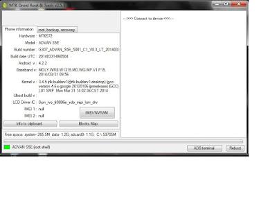 software: advan s5e 5001 C1 VD.3 LT 2014