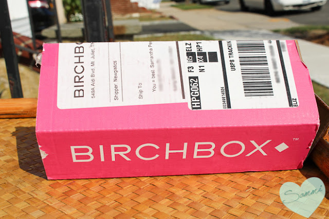 Birchbox: September 2015 Review