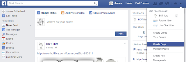 Automating your Facebook presence using a Facebook bot - Bot