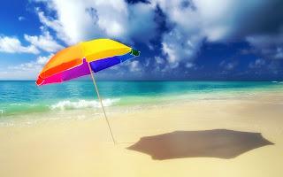 pantai yang panas