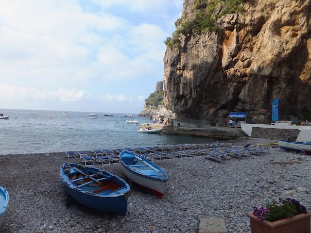 Praiano, Positano, Capri, Costa Amalfitana, Navegacion, Italia