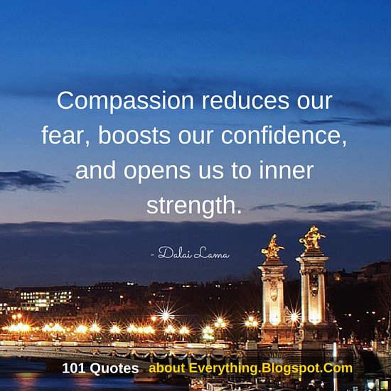 """Dalai Lama Quotes about Compassion"""