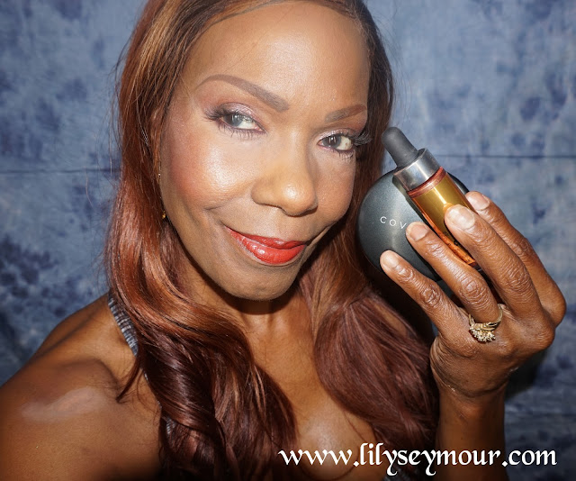 Cover FX Pressed Mineral Foundation & Candlelight Custom Enhancer Drops