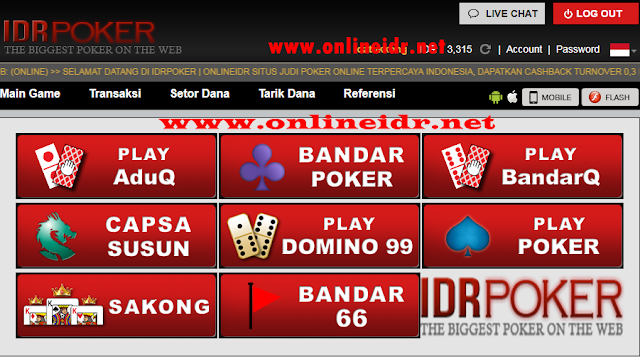 Situs Judi Poker Online IDR PKVgames 100% Original Terpercaya