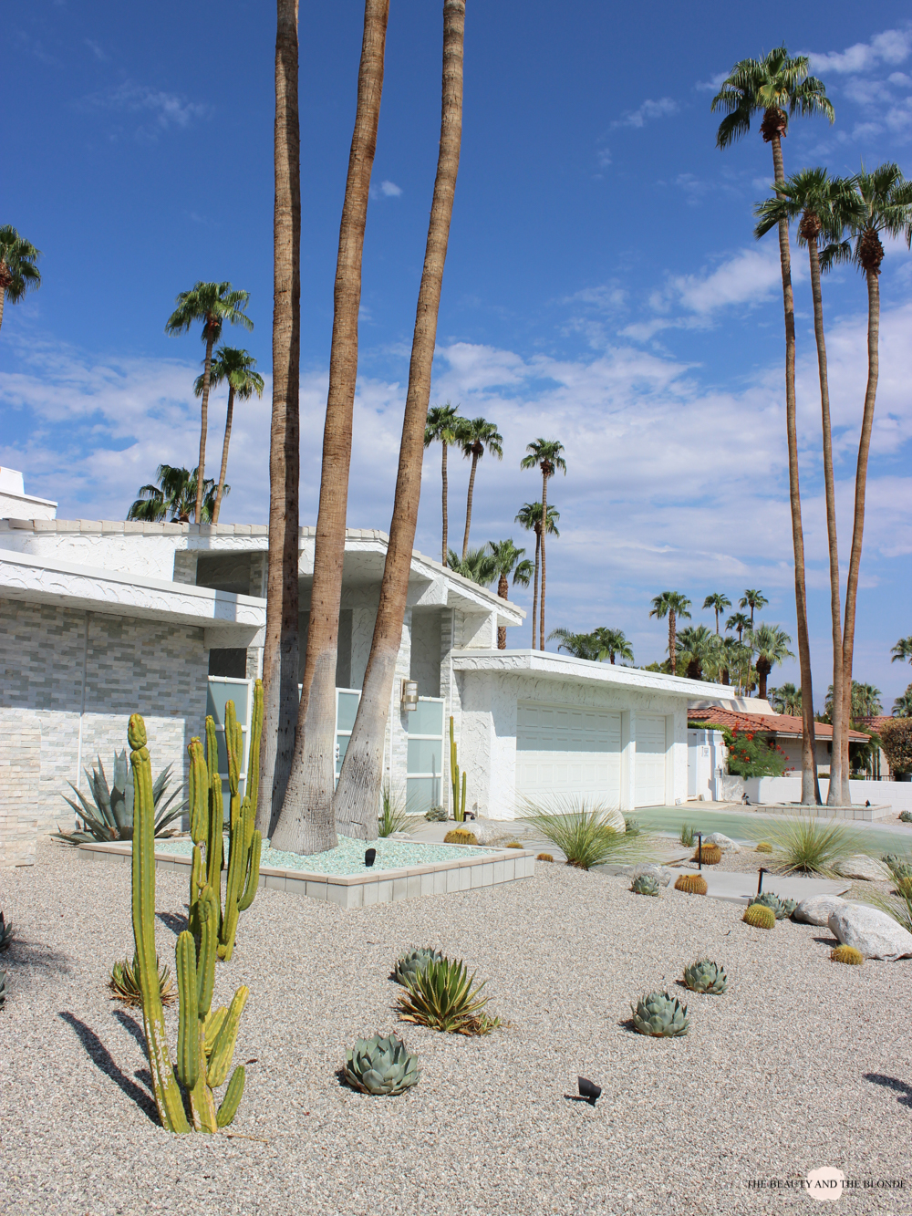 The beauty and the blonde westcoast usa roadtrip palm springs for Plush pad palm springs