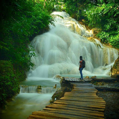 Rute menuju Air Terjun Gedad Banyusoco Playen