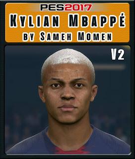PES 2017 Faces Kylian Mbappé by Sameh Momen