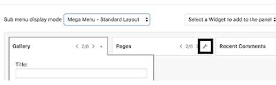 إضافة قائمة متعددة الأعمدة إلى قائمة التنقل   إلى موقع WordPress