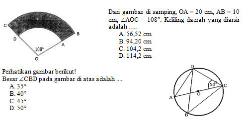 Kisi Kisi Soal Dan Kunci Jawaban Matematika Smp Kelas 8 Semester Genap Kurikulum 2013 Didno76 Com