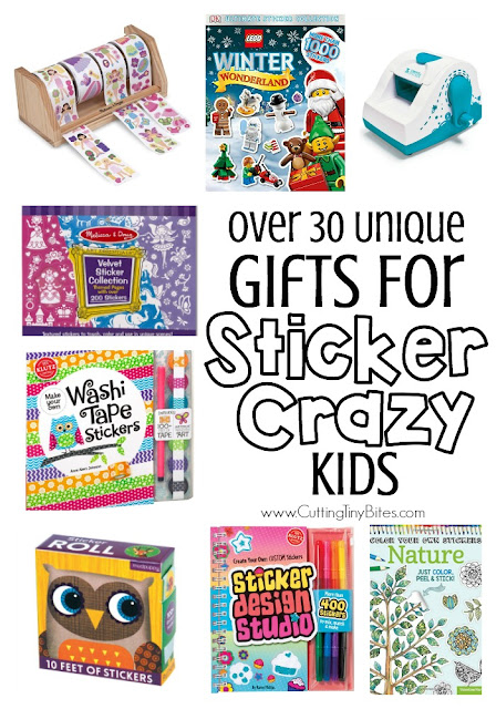 Gifts for kids who love stickers 30 unique sticker gift ideas for toddlers preschoolers