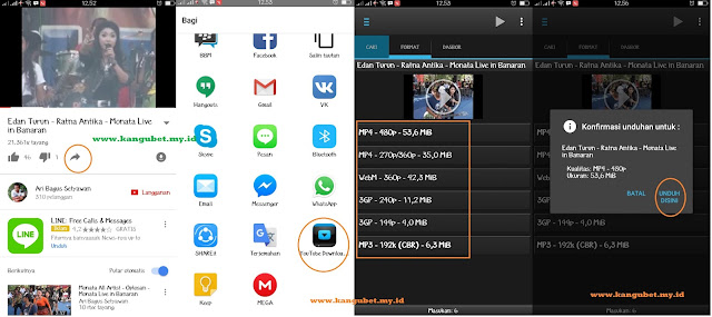 Cara Cepat Download Video Youtube di HP Android dengan Aplikasi Terbaik seperti TubeMate dan Youtube Downloader