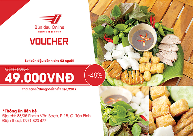 voucher ăn uống giá rẻ tại TPHCM