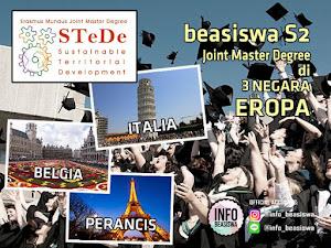 Erasmus Mundus Joint Master Degree: Beasiswa S2 di 3 Negara Eropa