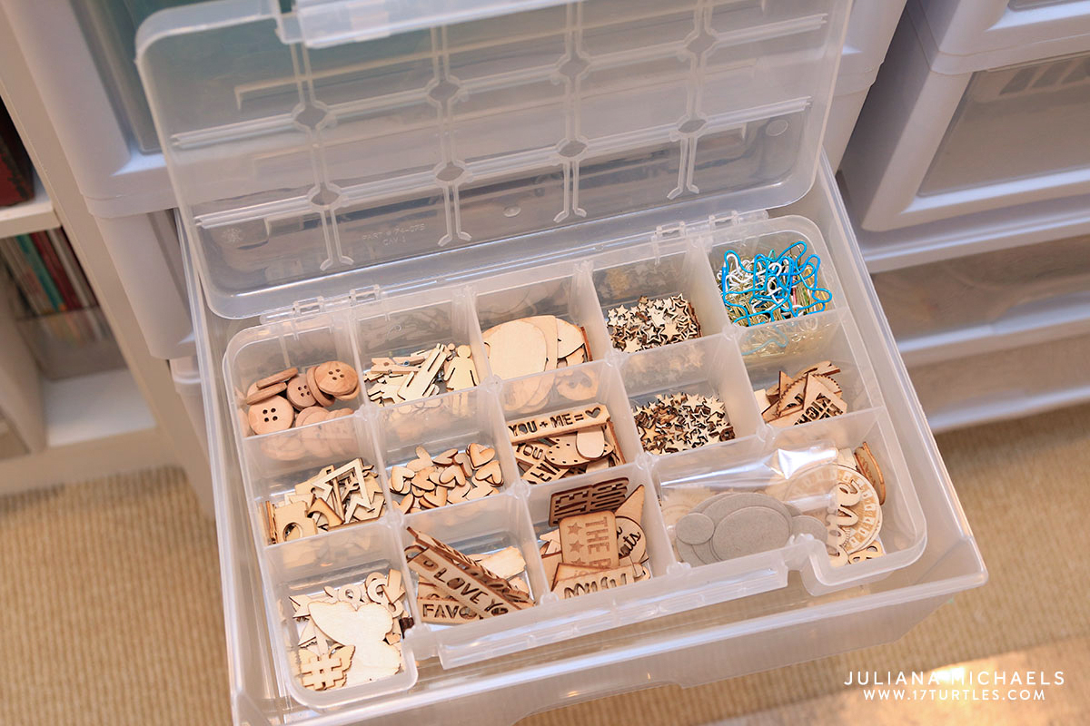 Awesome Card Making Storage Ideas Part - 2: Scrapbook And Card Making Storage Ideas - Juliana Michaels Of 17turtles  Shares Her Creative Space And