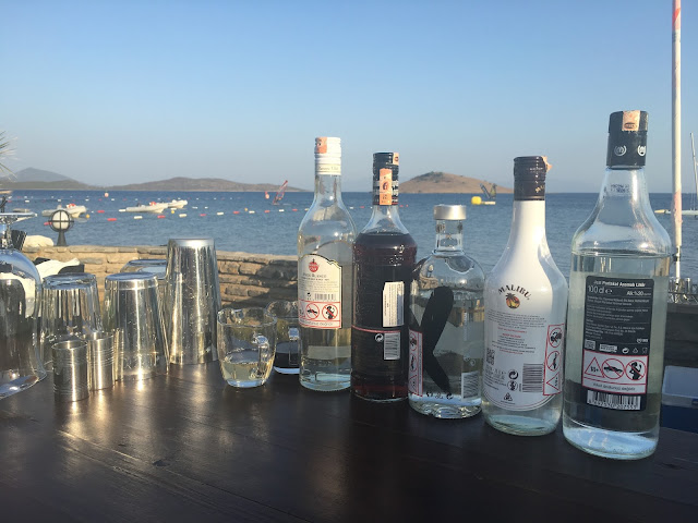 cocktail making in Turkey