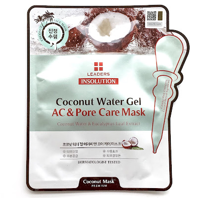 leaders insolution coconut water gel ac and pore mask