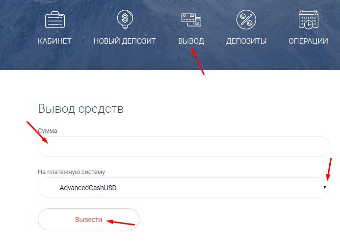 Регистрация в HowellBit 4